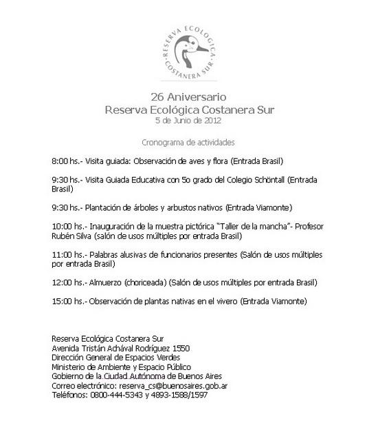 26 aniversario reserva