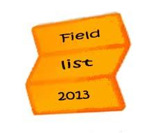 field list2013