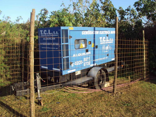 Generador eléctrico/Electric generator