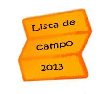 lista de campo2013