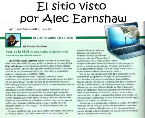 esta página por Alec Earnshaw