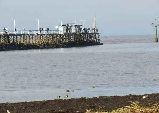 Vista muelle pescadores/View fishermen's pier