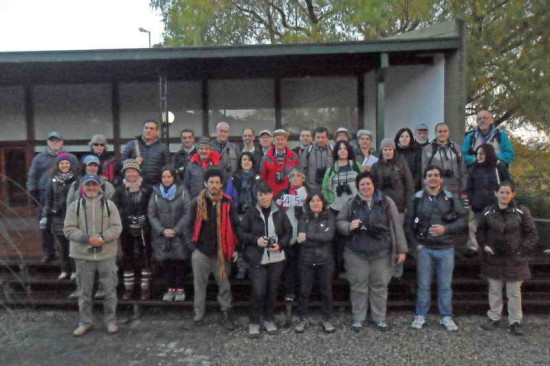 Censo junio 2016/June 2016 Bird survey